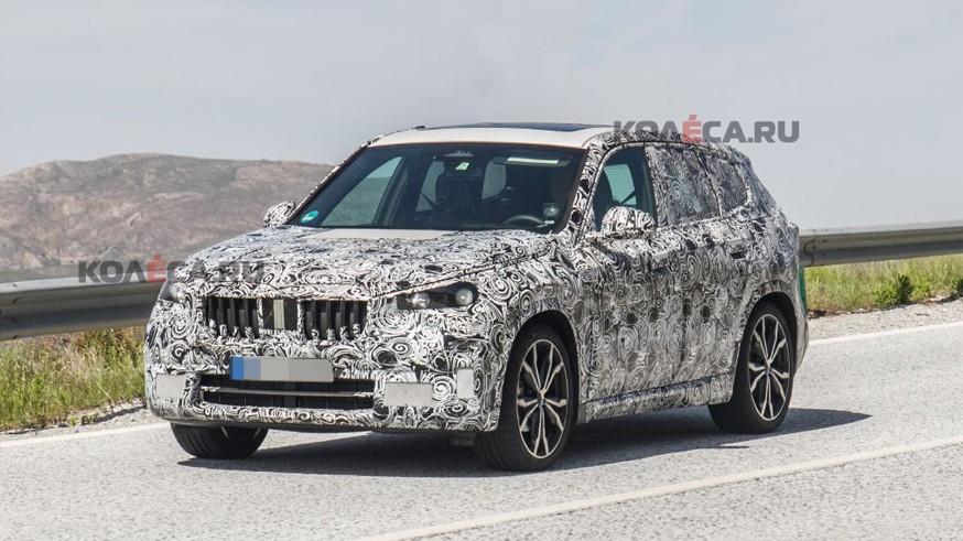 BMW занимается разработкой X1 нового поколения: кроссовер попался фотошпионам