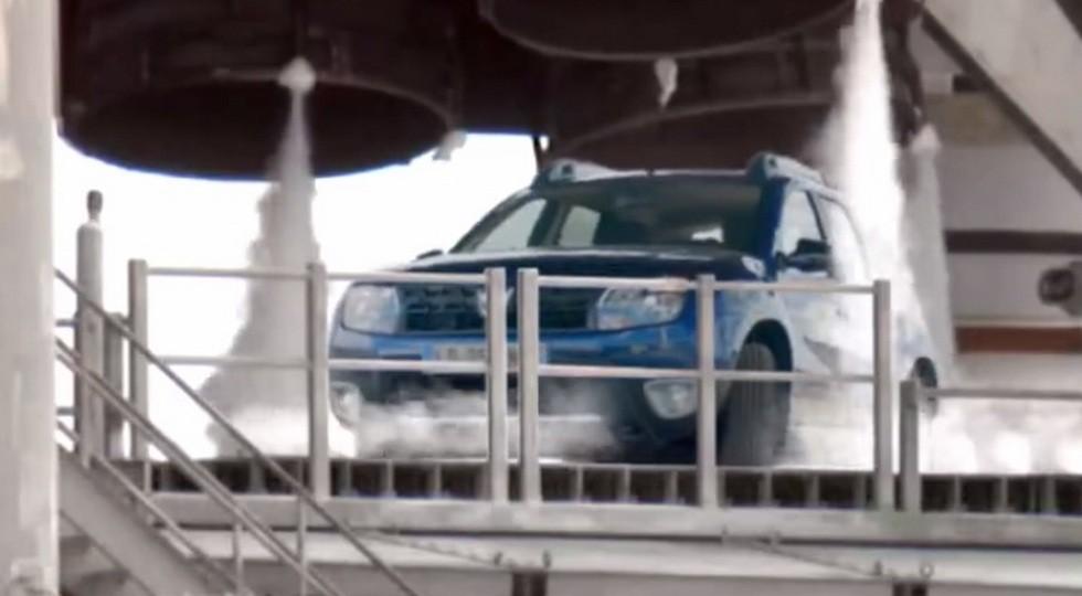 Скриншот с видеотизера Dacia