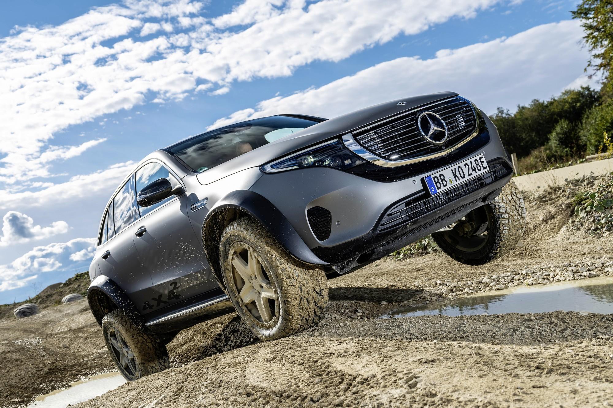 Раскритикованный и плохо продающийся Mercedes-Benz EQC стал внедорожником