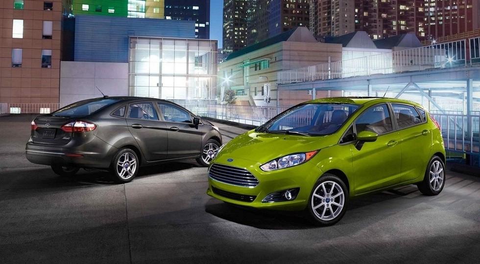 Актуальная Ford Fiesta для США