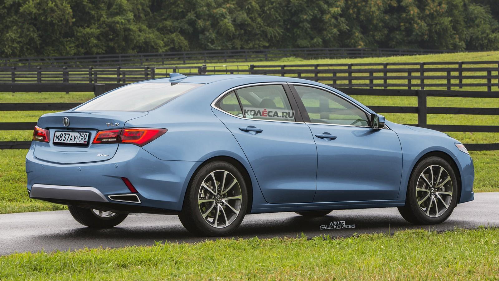 Acura TLX rear