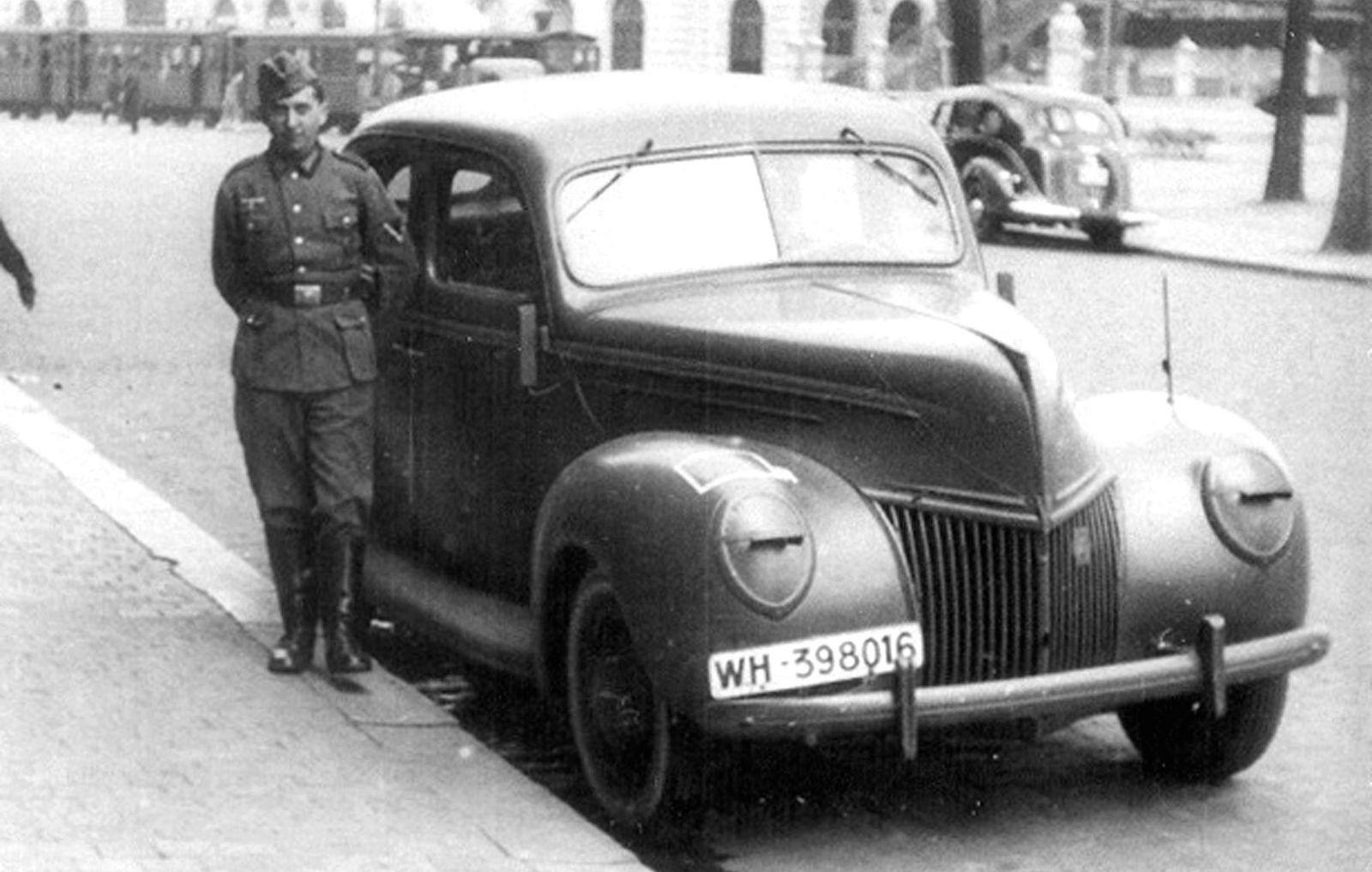 Генеральские и офицерские: штабные и командирские легковые машины Второй мировой