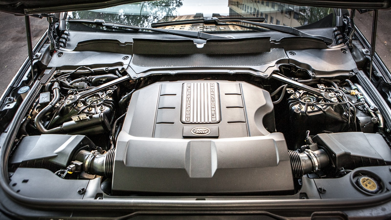 Land Rover Discovery двигатель