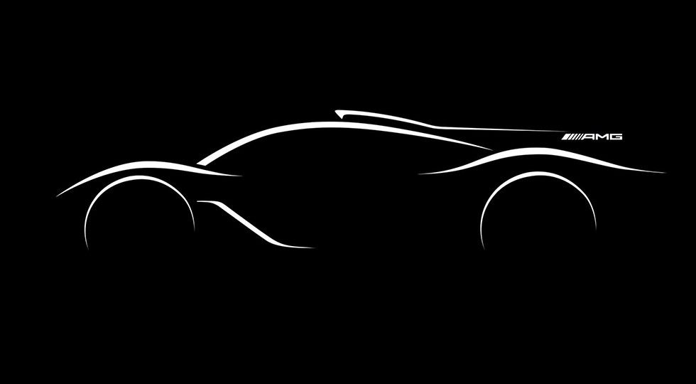 Официальный тизер Mercedes-AMG Project One