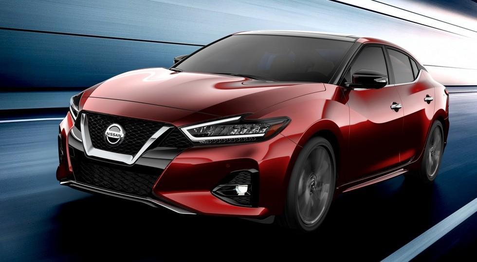 Обновленный Nissan Maxima