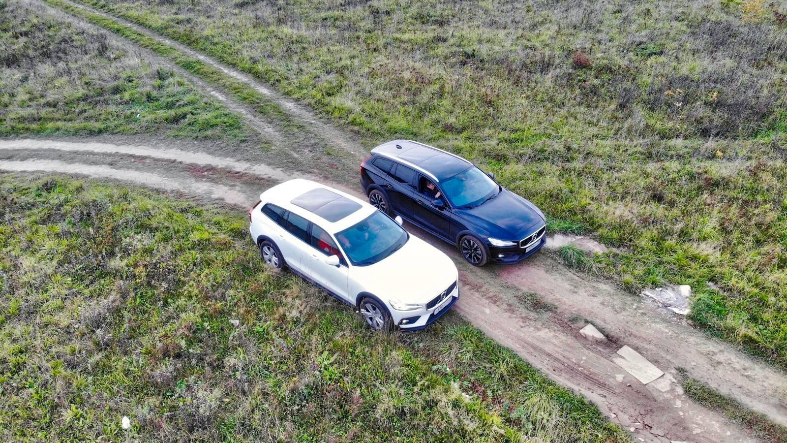 Жёстко стелет - мягко спать: тест новых Volvo S60 и V60 Cross Country