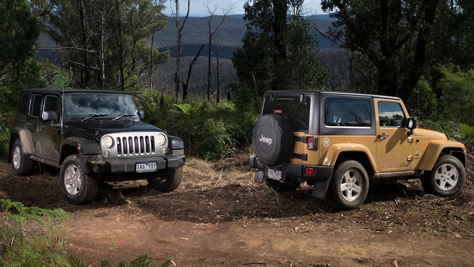 На фото: Jeep Wrangler '2007–н.в.