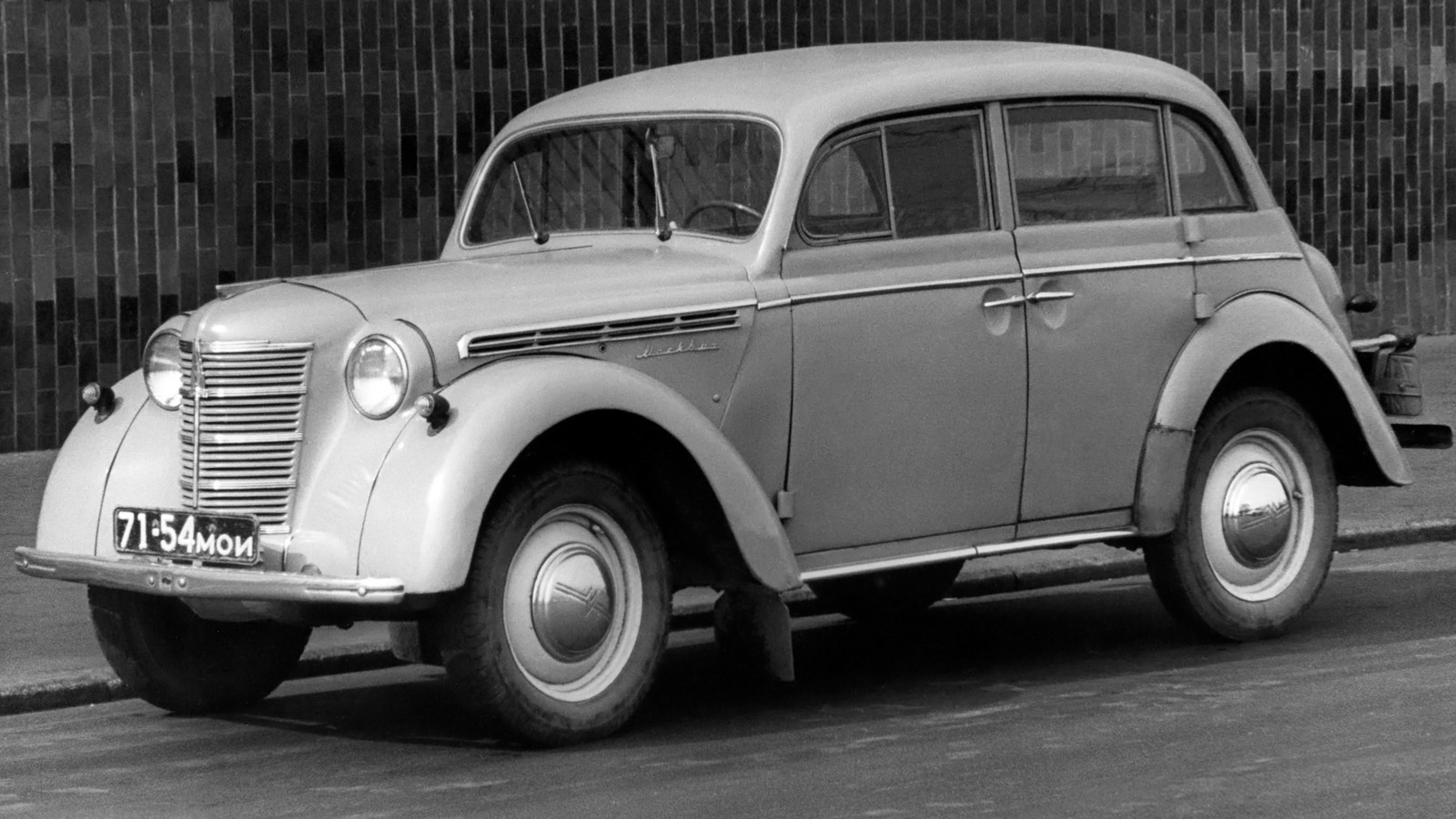 На фото: Москвич-401 420 '1954–56