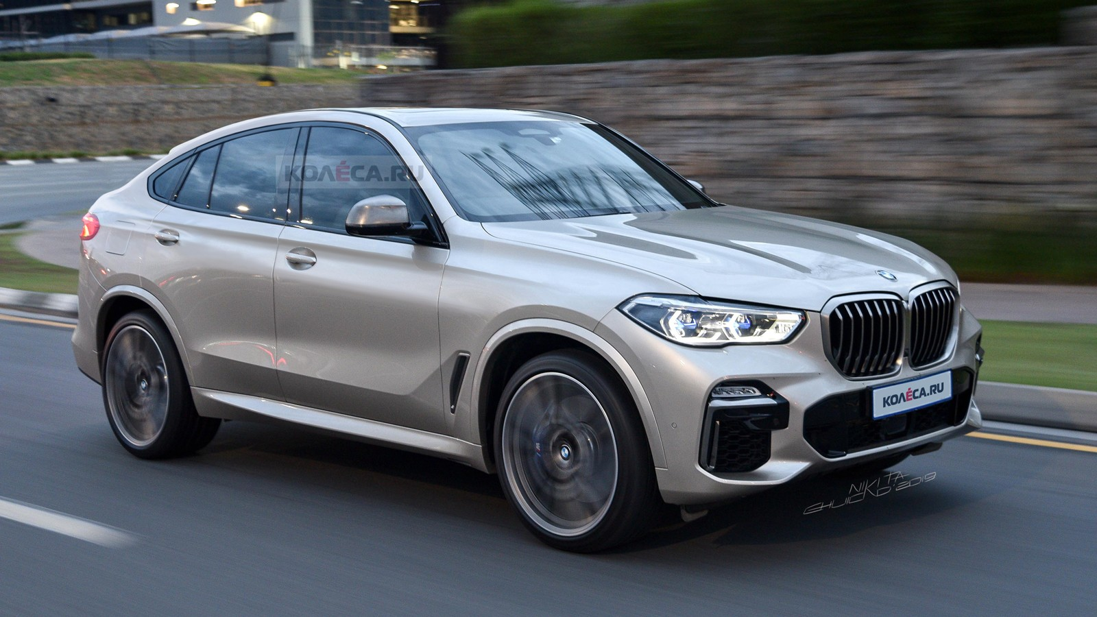 BMW X6 new front2