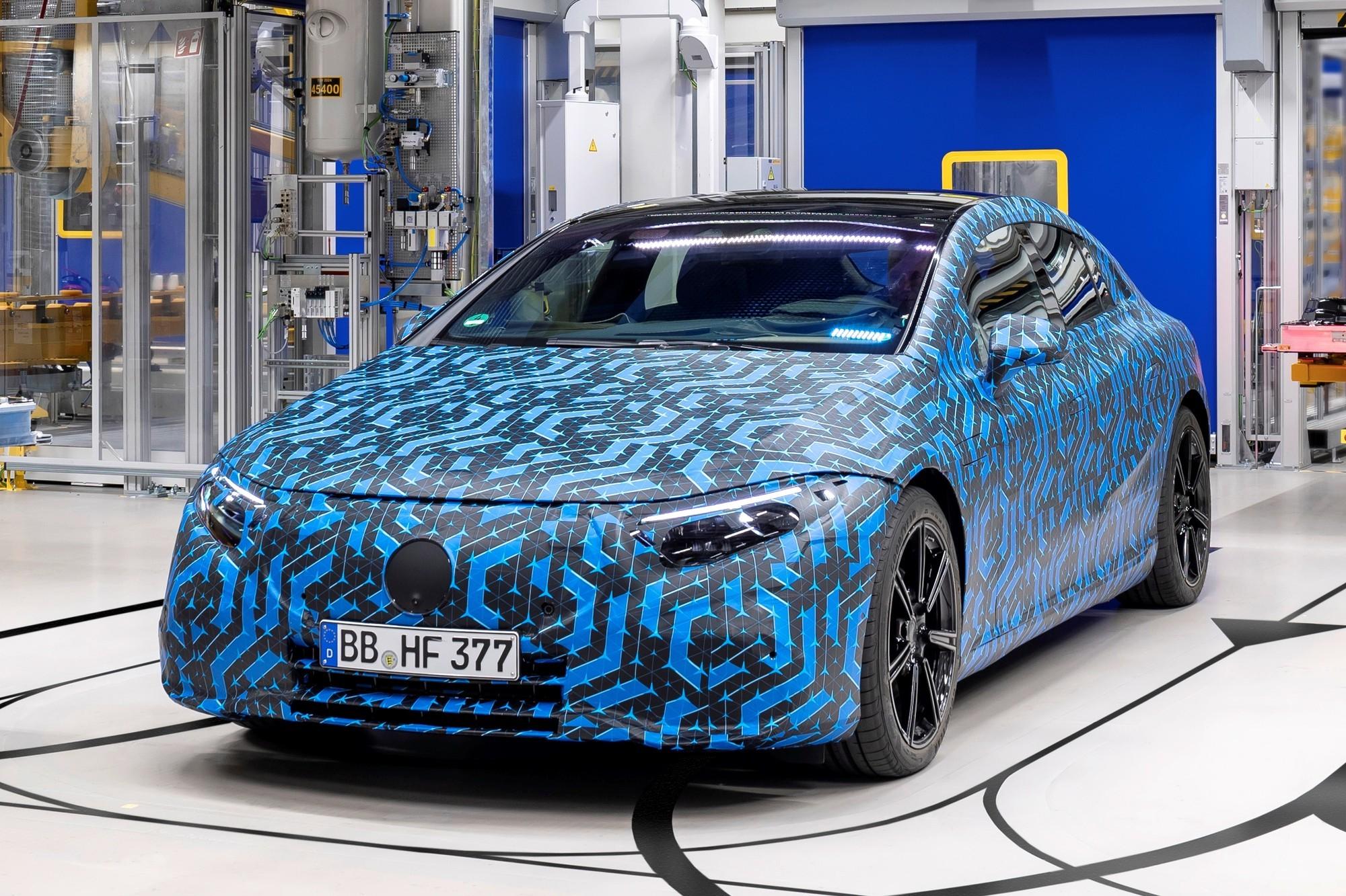 Что, где, когда: Daimler назвал сроки запуска новых электромобилей Mercedes-Benz