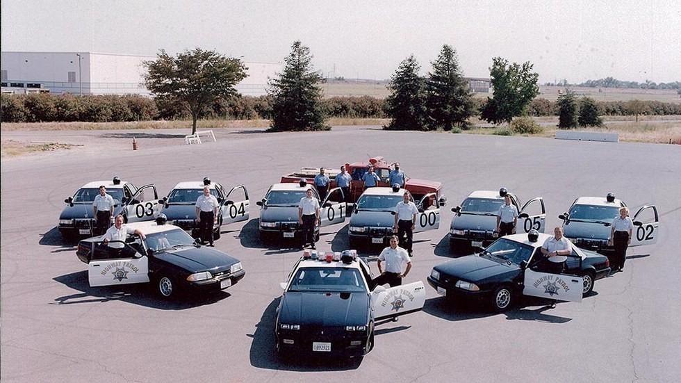 1992 полицейский патруль