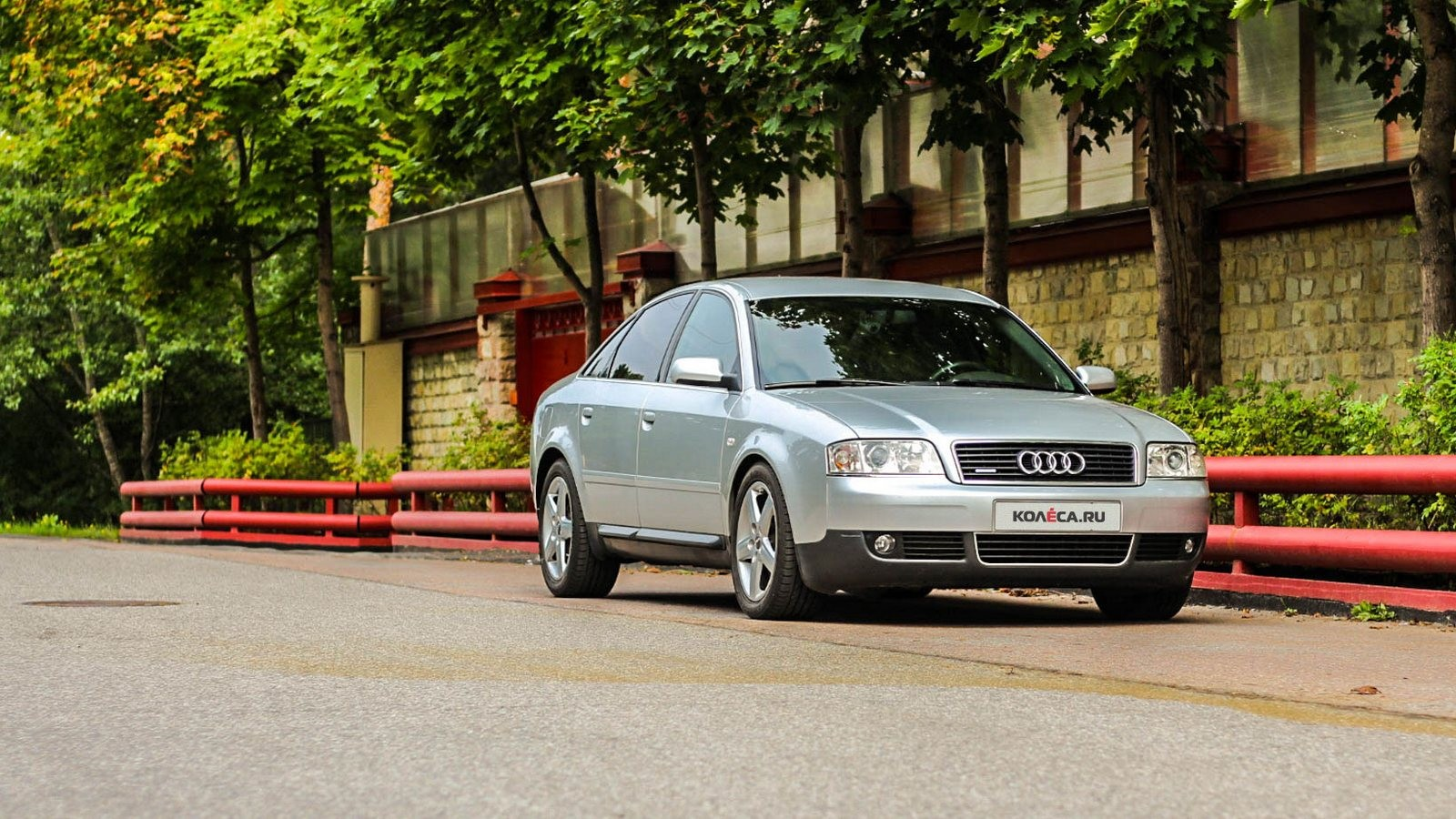Audi A6 II три четверти (8)