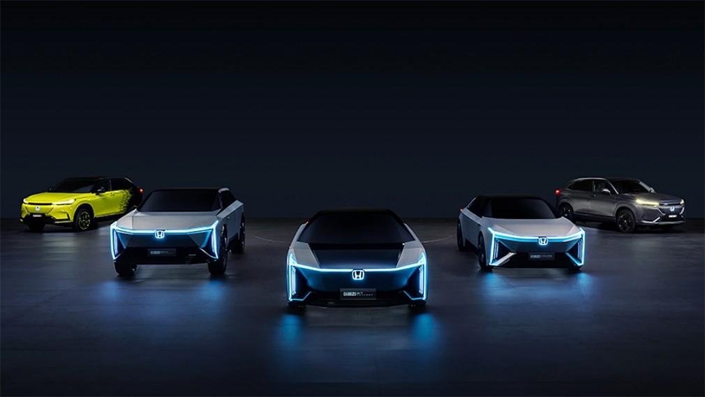 Honda показала новый стиль своих электромобилей и «плоскую» платформу для них