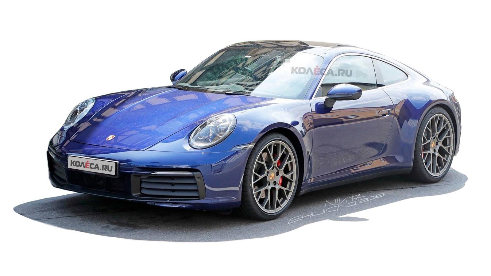 Porsche 911 front2