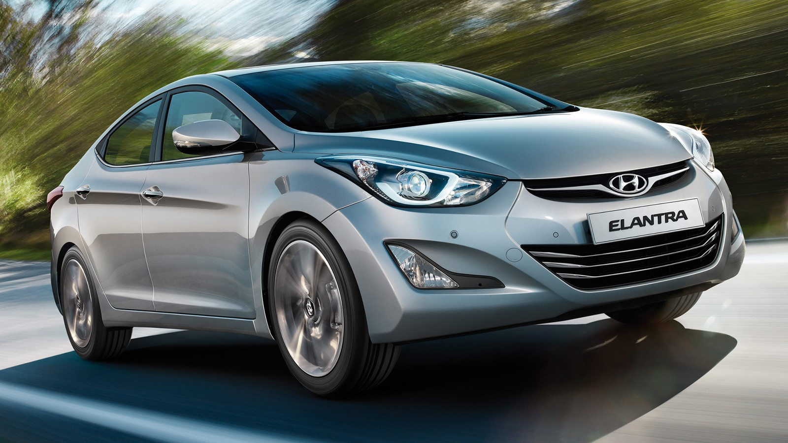 На фото: Hyundai Elantra