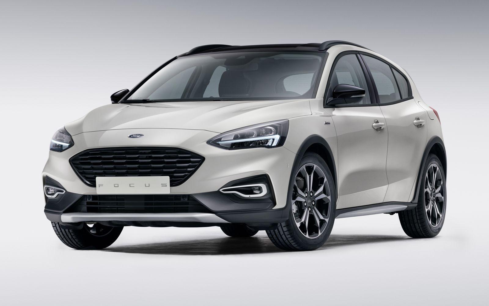 Новый Ford Focus в кросс-версии Activ.