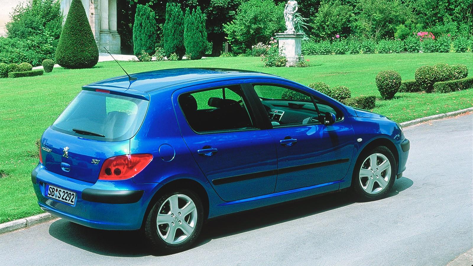 На фото: Peugeot 307 5-door '2001–05