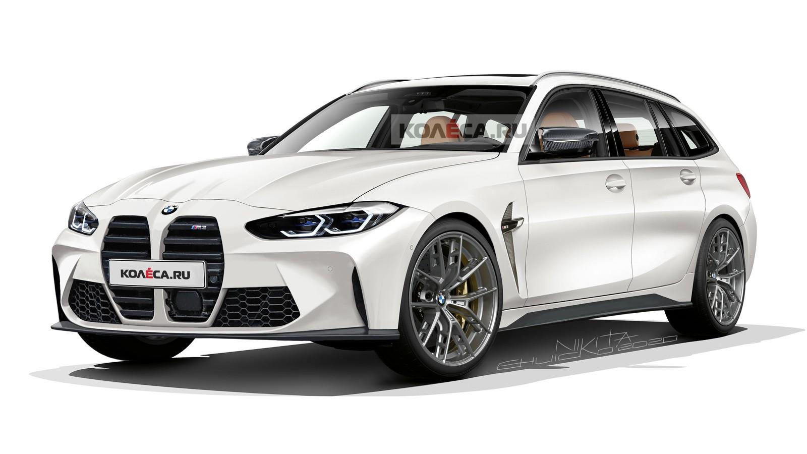 Первый в истории серийный универсал BMW M3: новые изображения