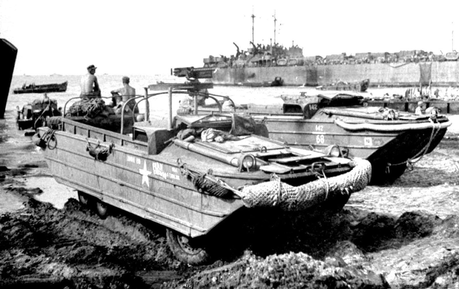 Водоплавающие союзники и их советские наследники: ленд-лизовские амфибии