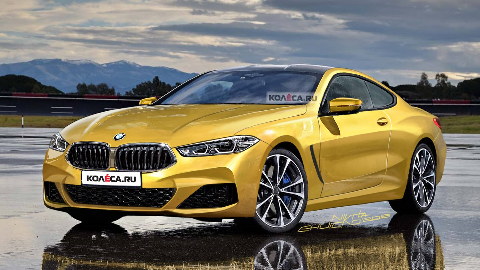 BMW 8 front2