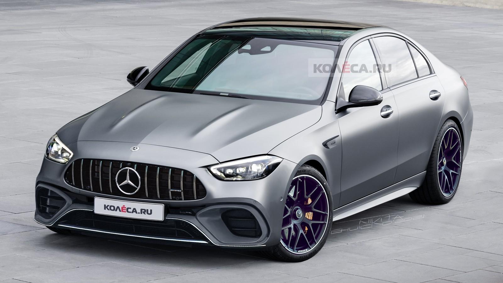 Новый Mercedes-AMG C 63 (W206): первые изображения