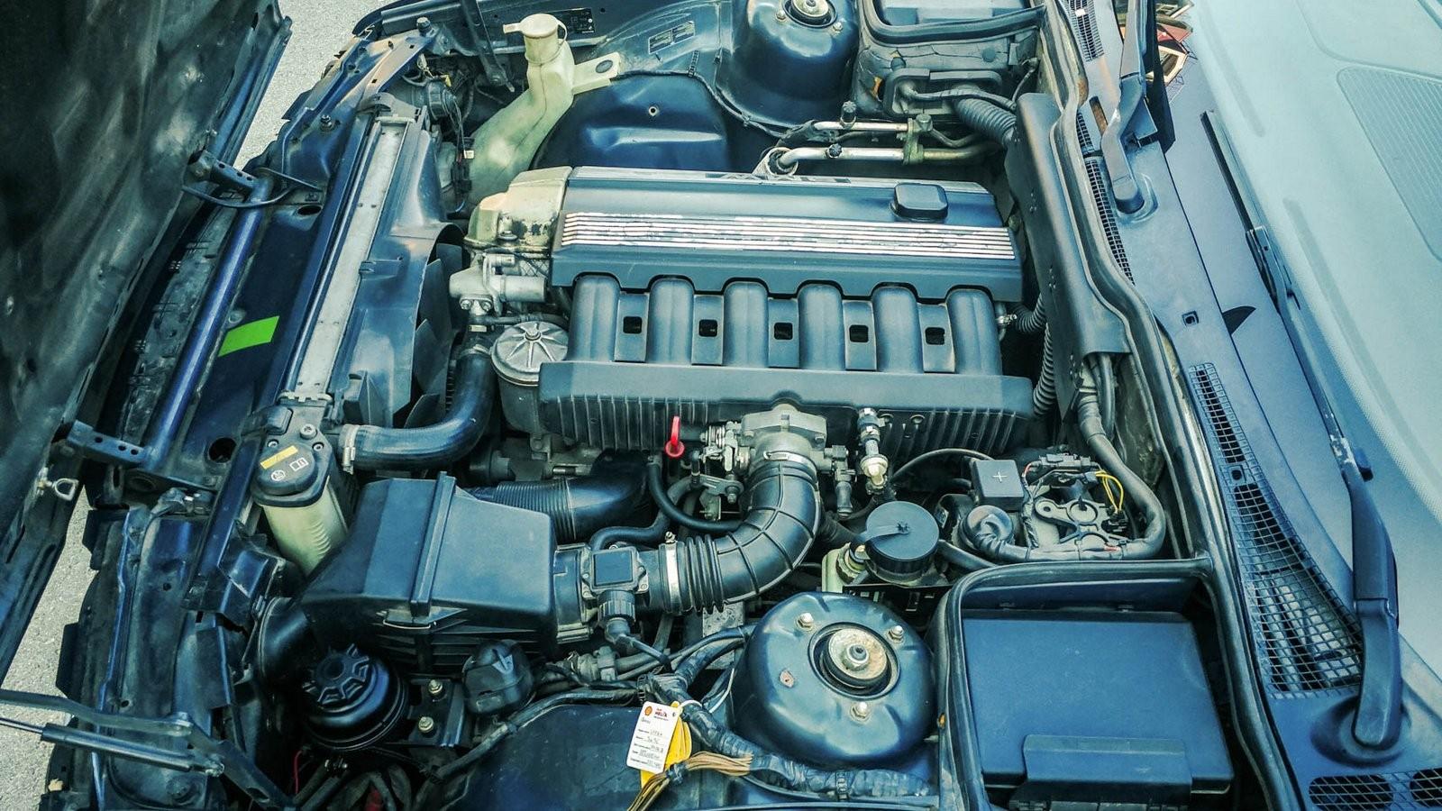 BMW 5 серии E34 двигатель