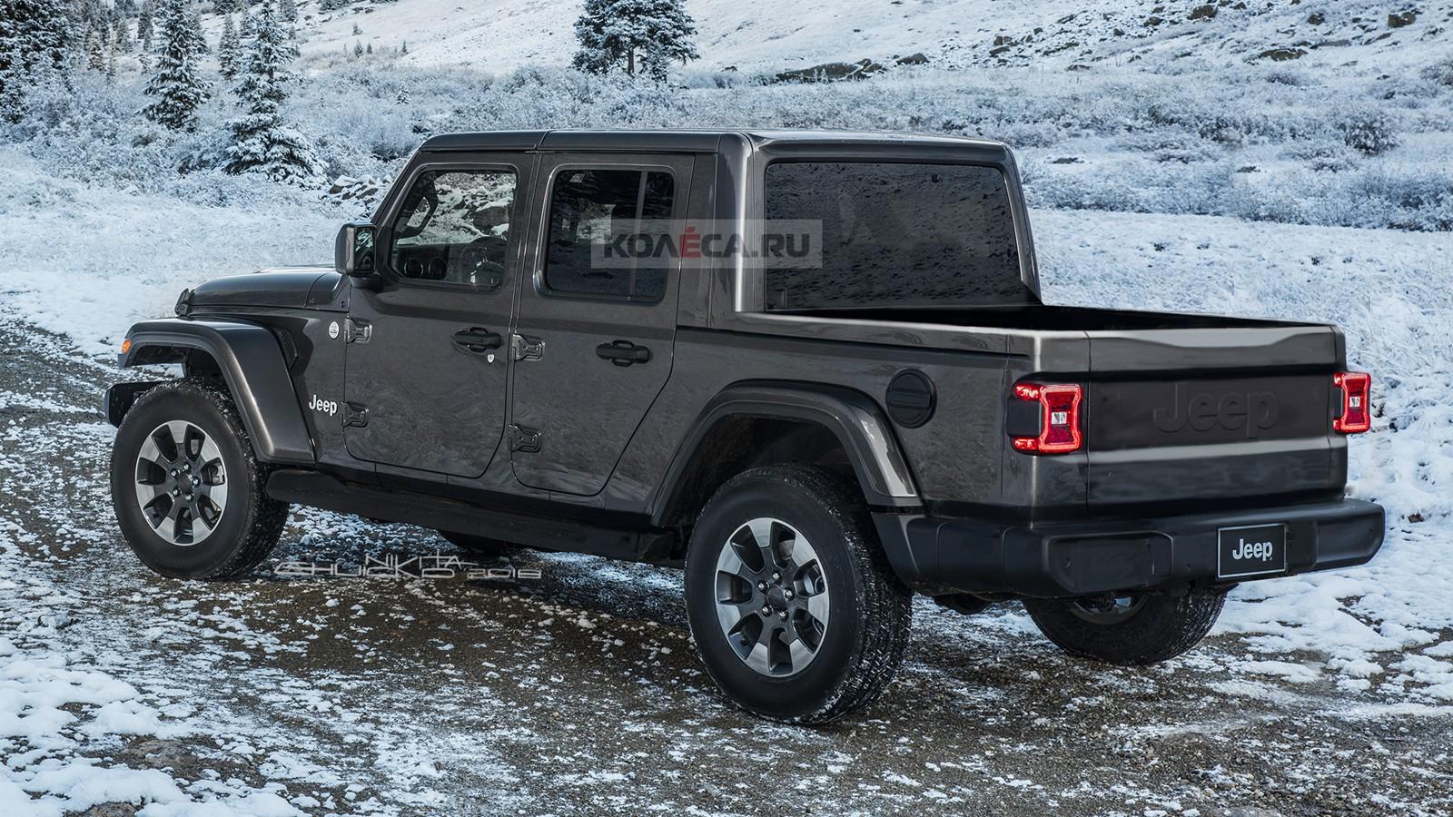 Jeep pickup rear1