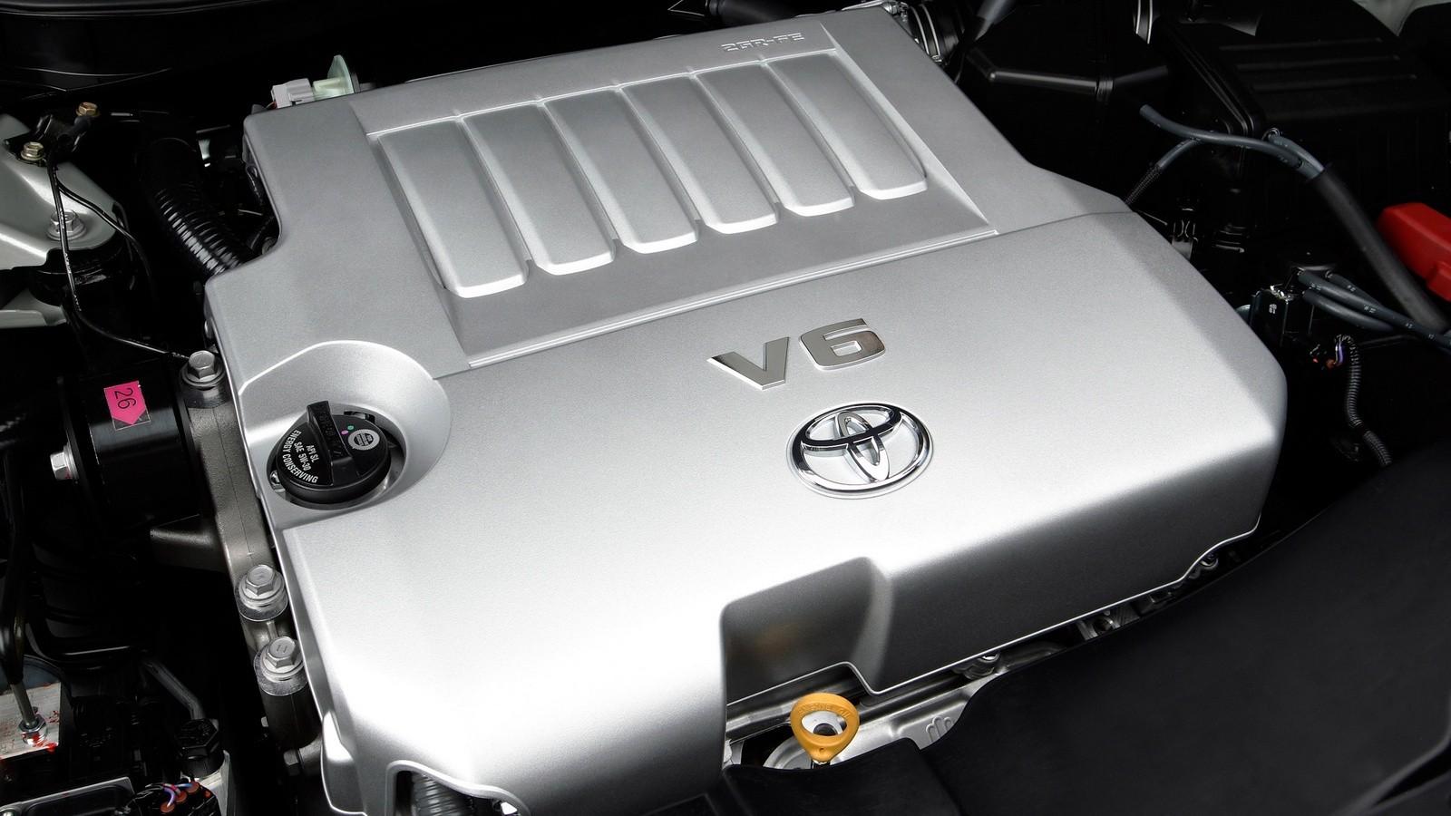 Под капотом Toyota Camry XLE North America '2006–09