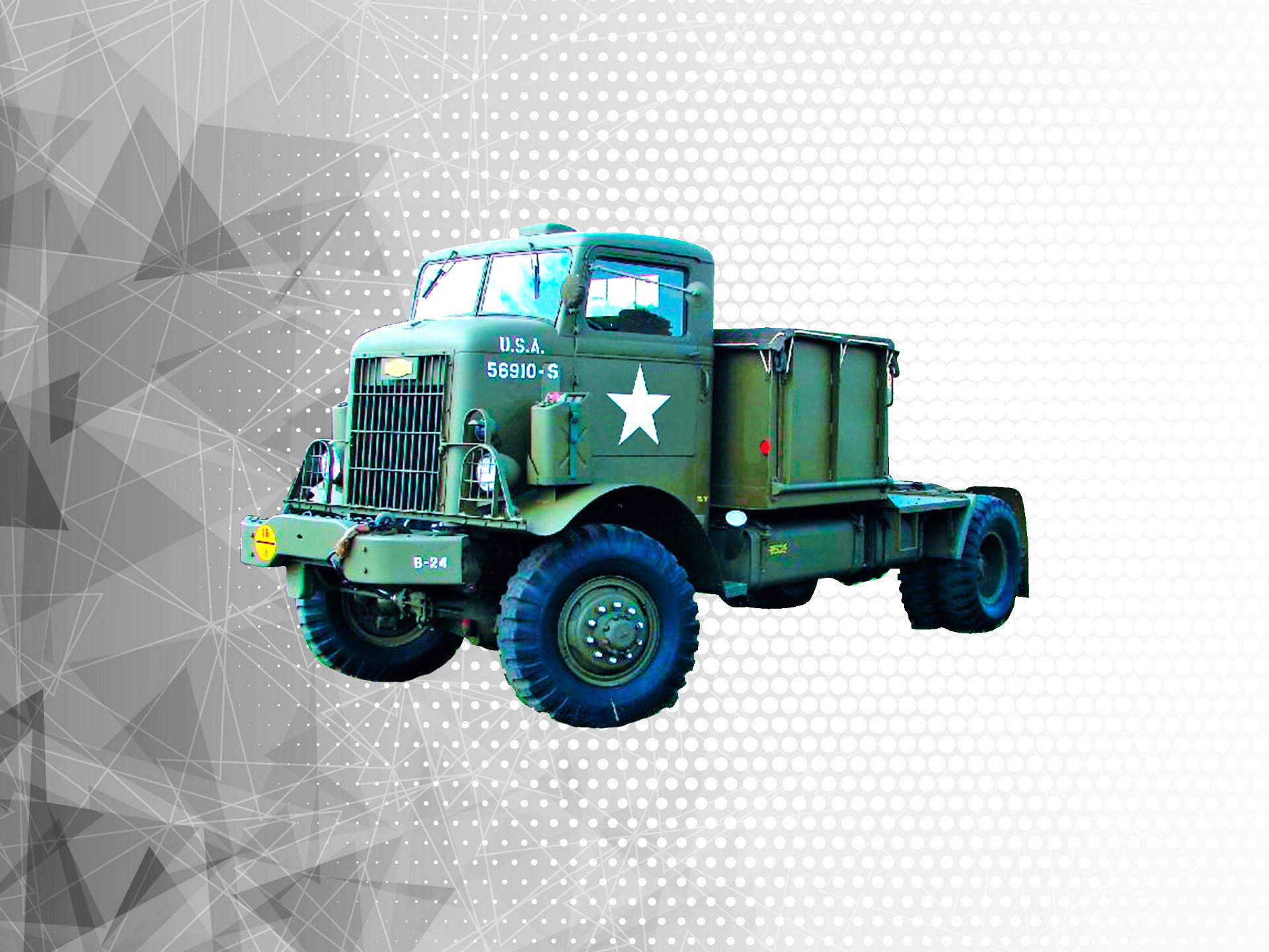 Армейские транспортеры и тягачи конвейер винтовой рисунок