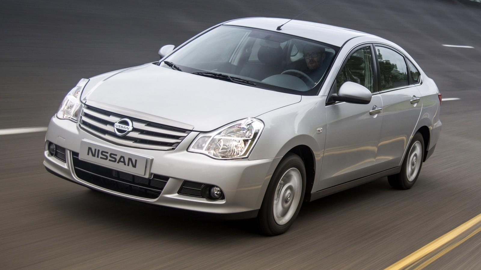 На фото: Nissan Almera '2012–н.в.