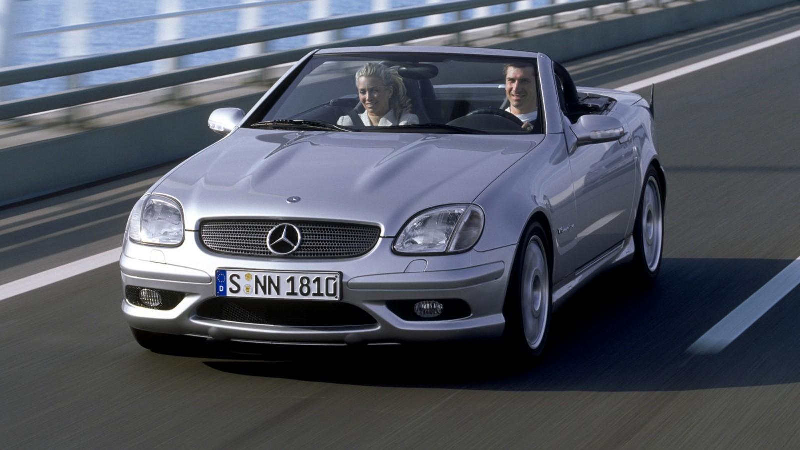Mercedes-Benz SLK 32 AMG Worldwide (R170) '2001–04