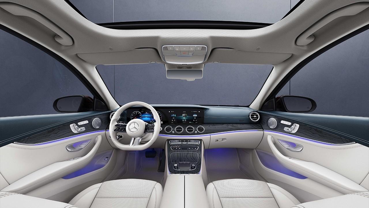 Обновлённый Mercedes-Benz E-Class L: простор как у Майбаха, но с 1,5-литровым мотором