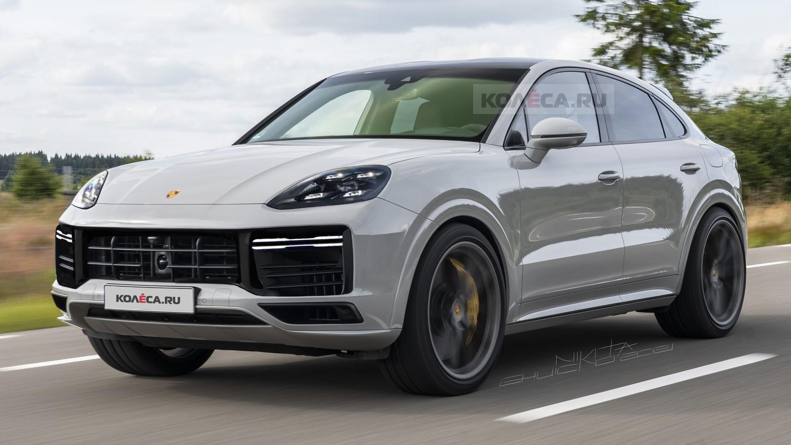 Обновлённый Porsche Cayenne Coupe: первые изображения