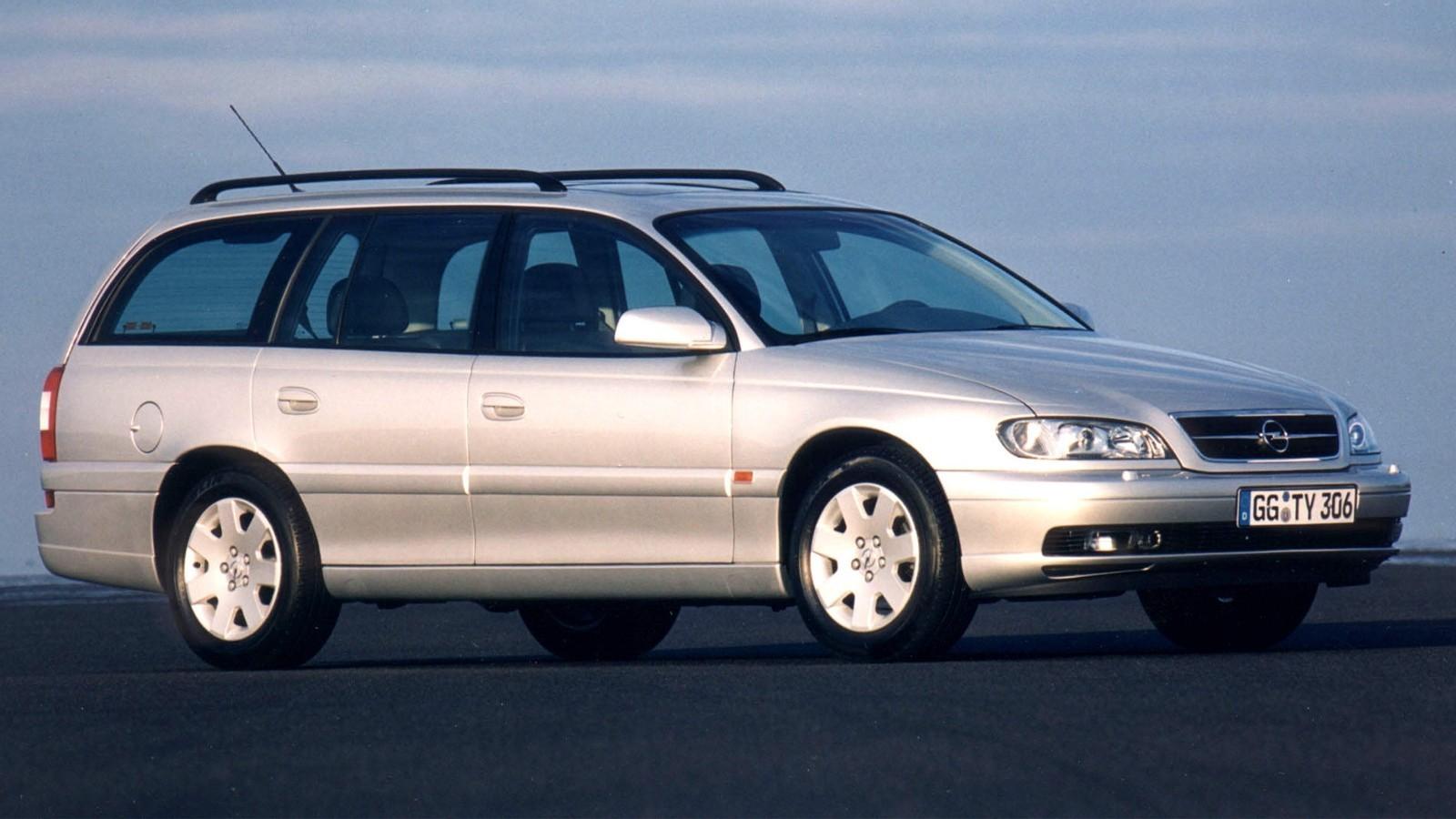Opel Omega Caravan (B) '1999–2003