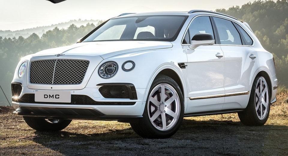 На фото: Bentley Bentayga в обвесе DMC