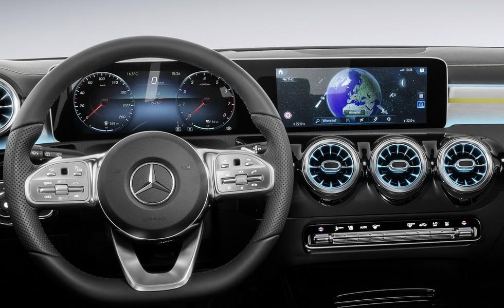 MBUX на Mercedes-Benz A-Class