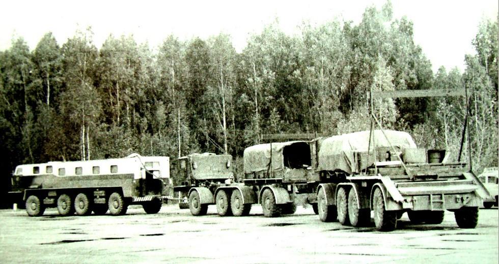 Завершение испытаний автопоезда ЗИЛ-135КП в марте 1972 года