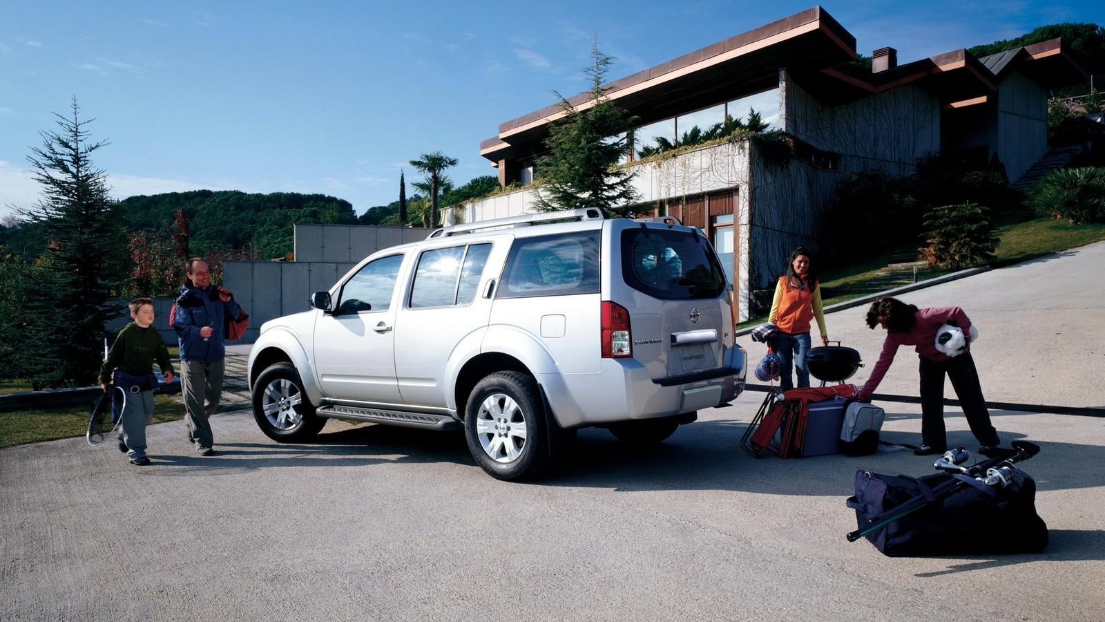 Nissan Pathfinder North America (R51) '2007–12