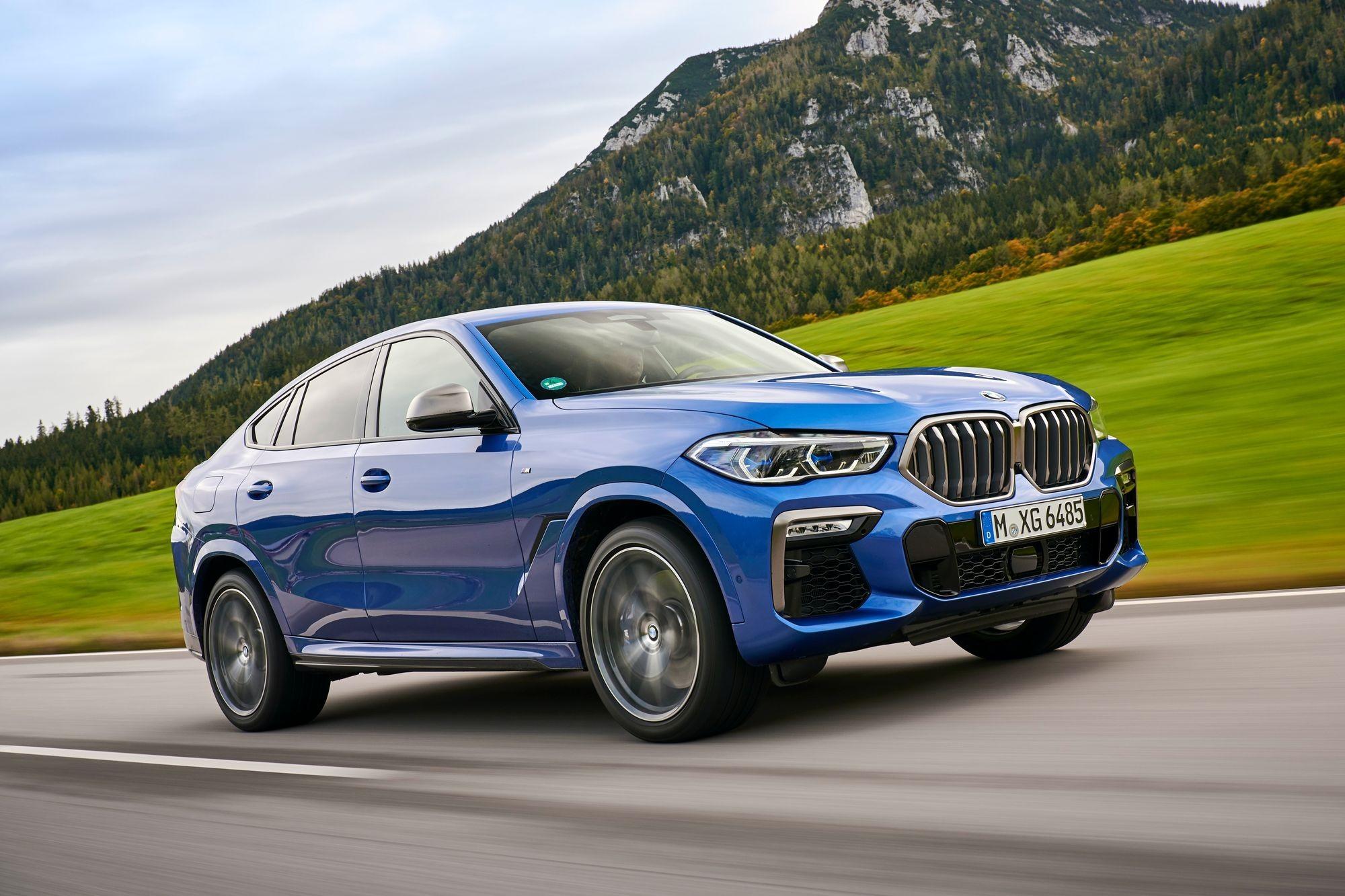 Недолили клея: в России отзывают «свистящие» кроссоверы BMW X6