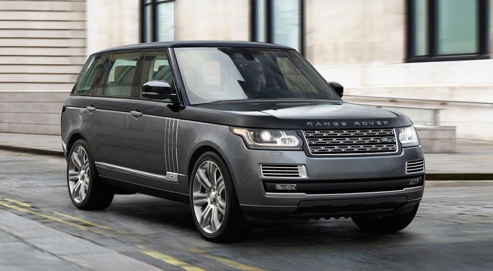 На фото: Range Rover