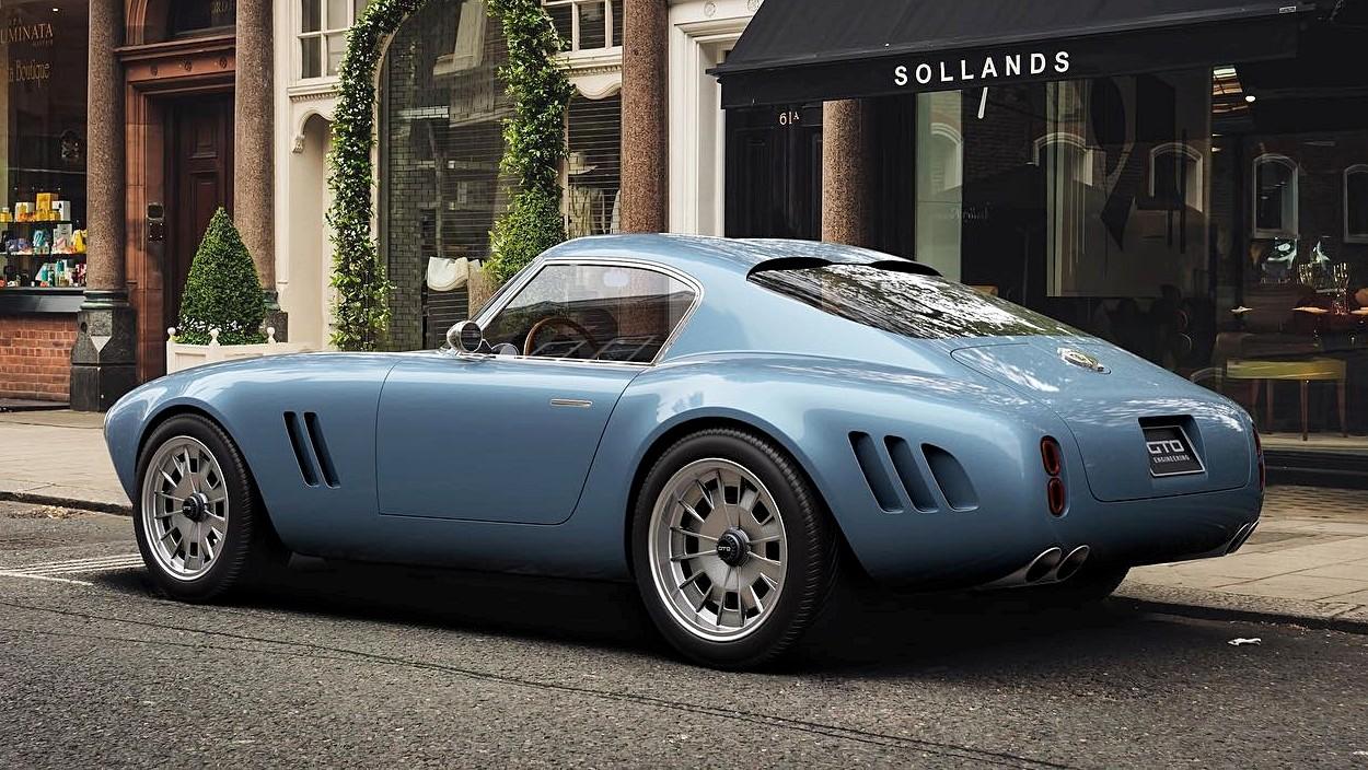 GTO Engineering Squalo: новая британская «акула» по мотивам классического Ferrari